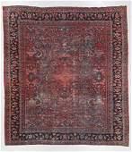 Antique Mahal Rug, Persia: 9'8'' x 10'9''