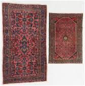 2 Antique Hamadan Rugs, Persia