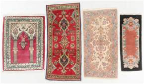 Estate Grouping of 4 Old Oriental Rugs
