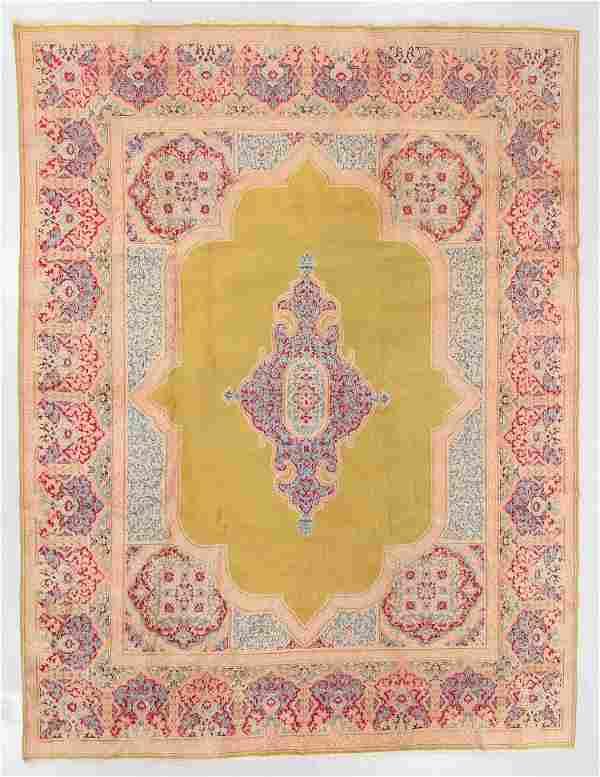 Semi-Antique Kerman Rug, Persia: 9'3'' x 12'2''
