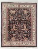 Vintage Indo-Bidjar Style Rug, India: 7'10'' x 9'11''