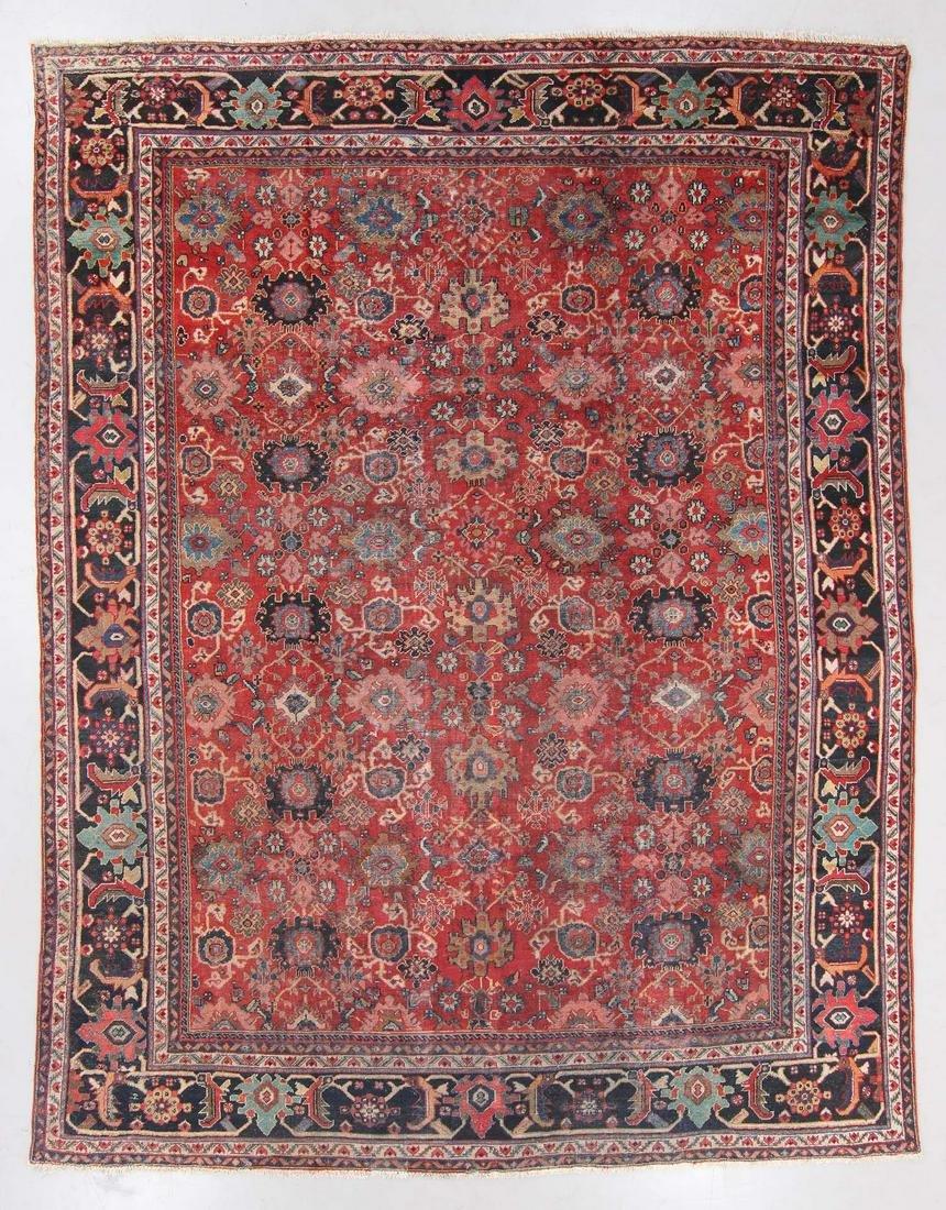 Semi-Antique Mahal Rug, Persia: 10'5'' x 13'4''