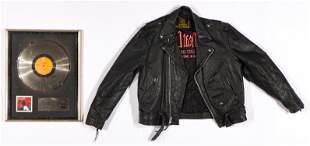 Meatloaf Memorabilia Lot with Autographed Jacket