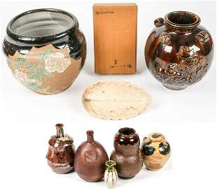 Collection of 8 Fine Japanese Ceramics