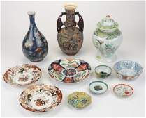 11 pc Collection Asian Porcelain