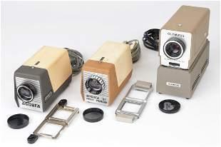 Three Vintage Projectors