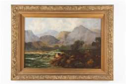 "Jack M. Ducker (20th century) ""Mountain Landscape"""