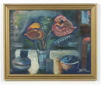 European School (20th c.) Still Life Painting