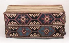 Antique Shah-Sevan Kilim Cargo Bag (Besik/ Mafrash)