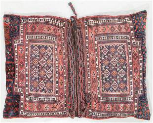 Pair of Connected Baktiari Cargo Bags, Circa 1900