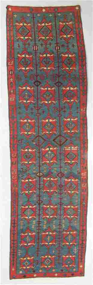 Antique Avar Kilim, Daghestan: 4'9'' x 16'10''