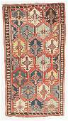Antique Kuba Kilim, Caucasus: 5'6'' x 9'9''