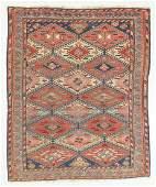 Fine Antique Sumak Rug, Caucasus: 4'8'' x 5'5''