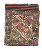 Antique Shahsavan Sumak Bagface, Caucasus