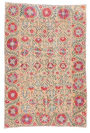 Fine Antique Central Asian Suzani