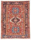 Antique Karadja Rug, Persia: 3'10'' x 4'10''