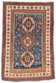 Antique Kazak Rug, Caucasus: 4'10'' x 7'2''
