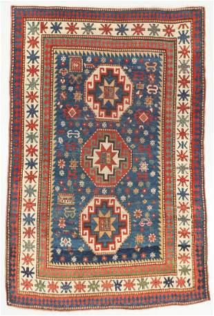Antique Kazak Rug, Caucasus: 4'10'' x 7'2''
