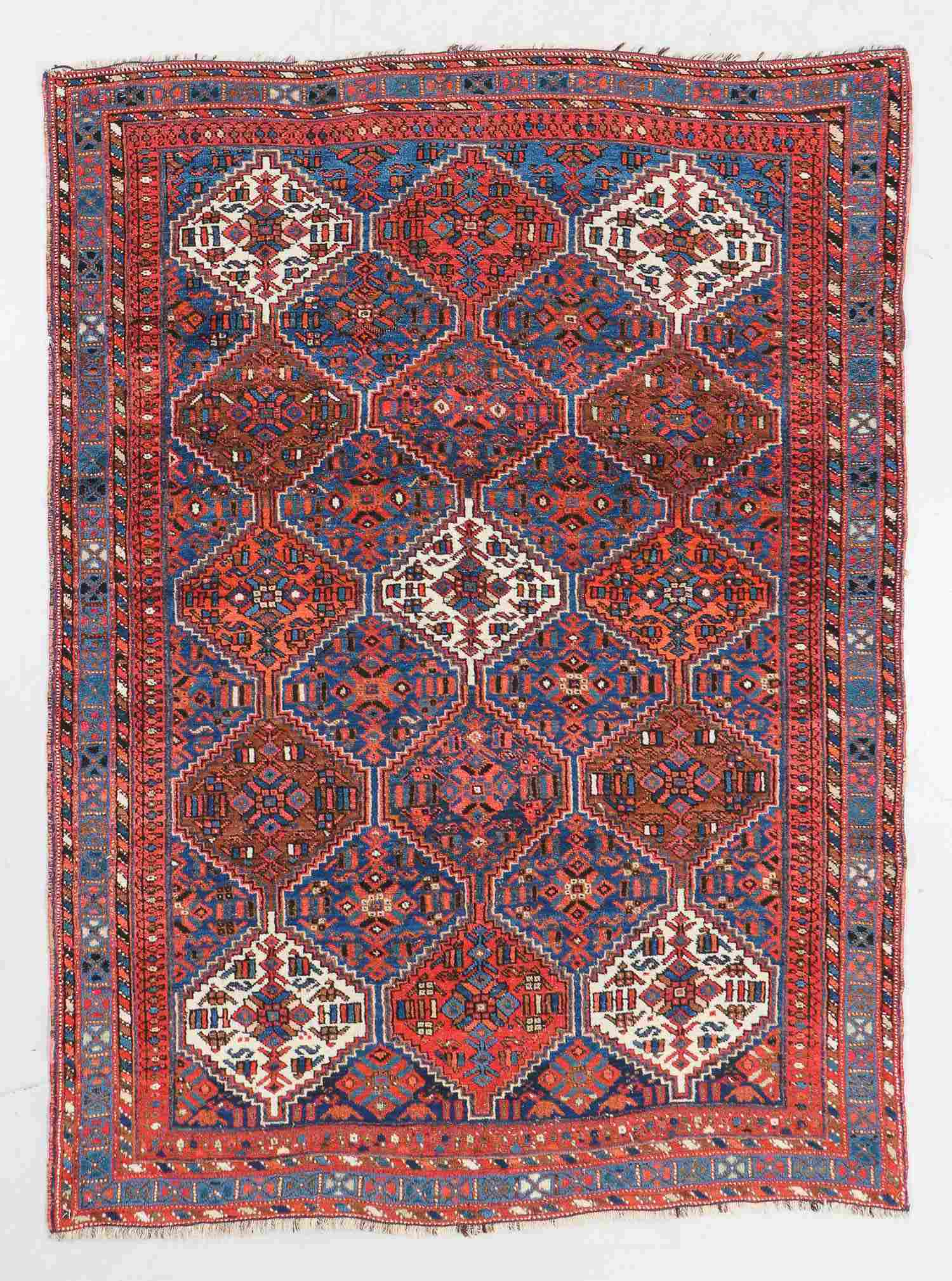Antique Afshar Rug, Persia: 4'10'' x 6'4''
