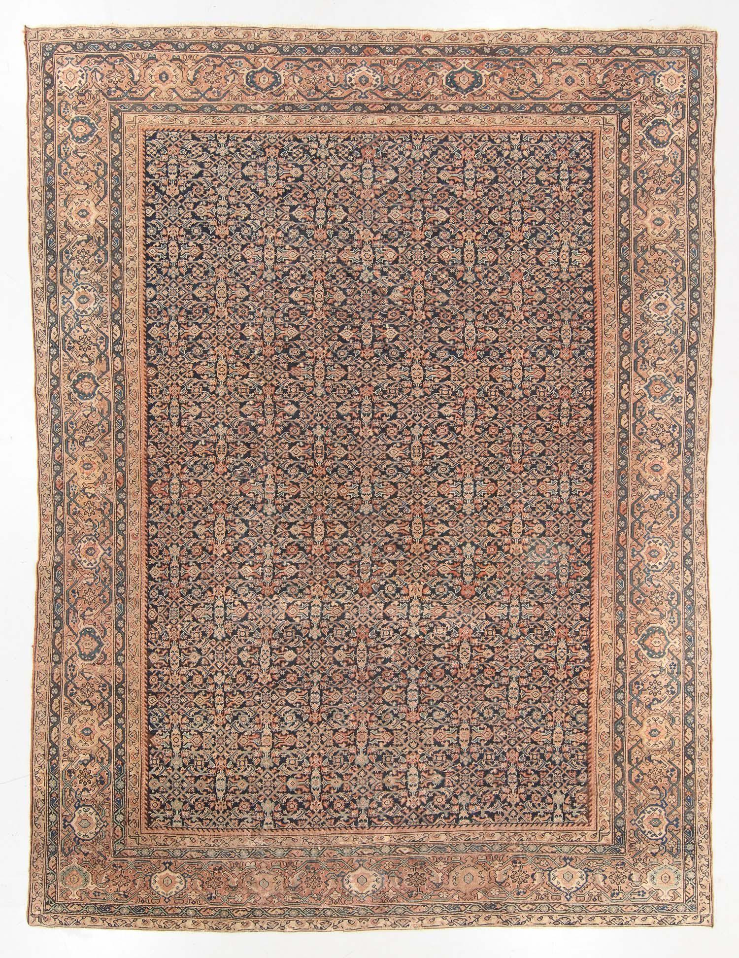 Antique Ferahan Rug, Persia: 10'1'' x 13'3''