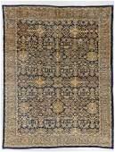 Antique Mahal Rug, Persia: 8'11'' x 11'7''