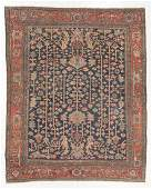 Antique Heriz Rug, Persia: 9'1'' x 11'5''
