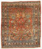 Antique Haji Jalili Tabriz Prayer Rug Persia 49 x
