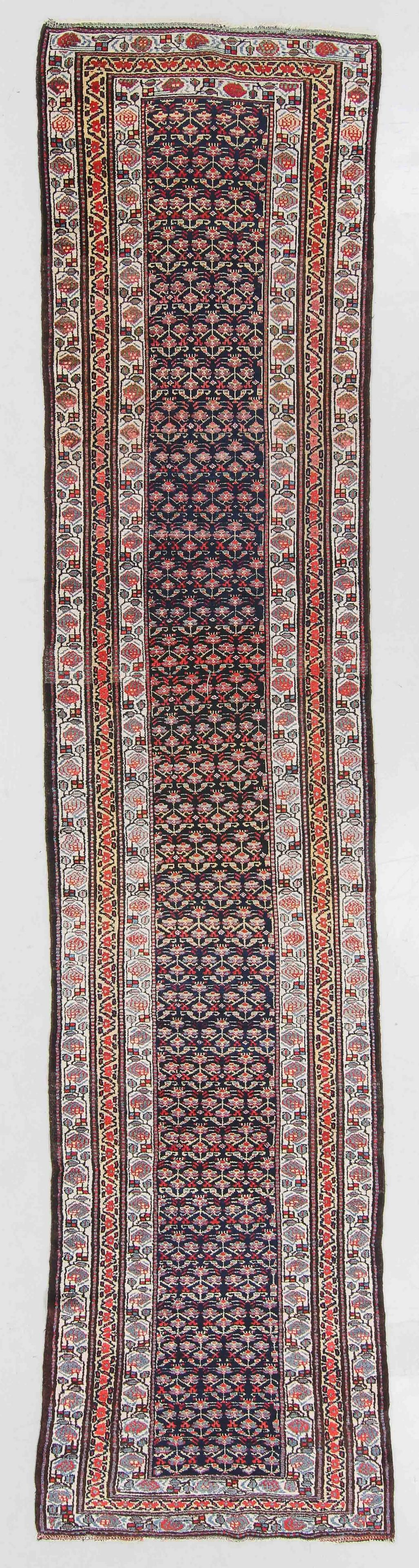Antique Malayer Rug, Persia: 3'4'' x 15'3''