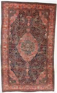 Fine Antique Ferahan Sarouk Rug, Persia: 14'9'' x