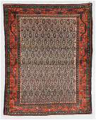 Antique Malayer Rug, Persia: 5'1'' x 6'3''
