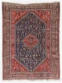 Antique Gashgai Kashkuli Rug, Persia: 5'10'' x 7'10''