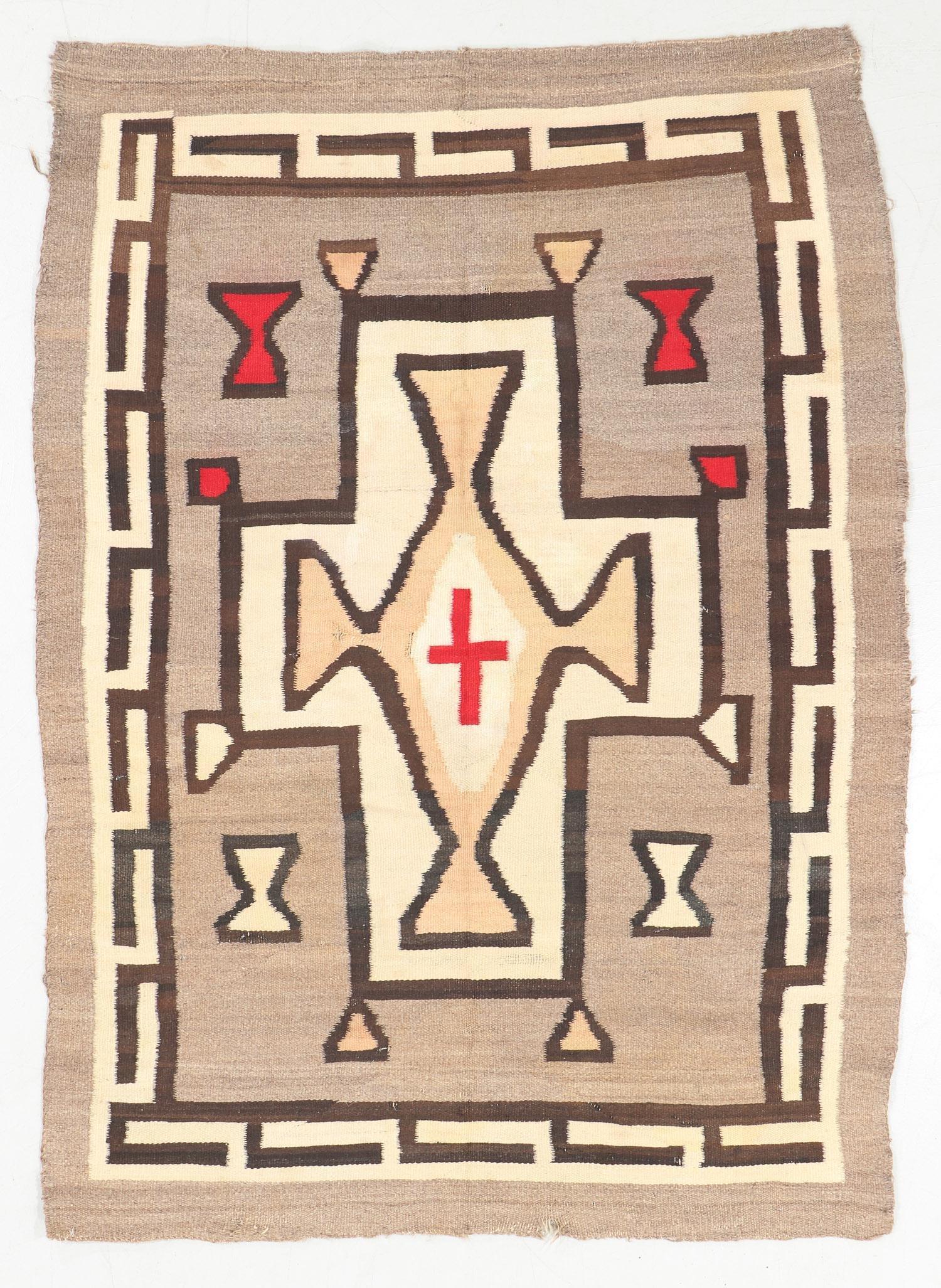 Navajo Rug, Early 20th C., 3'9'' x 5'5''