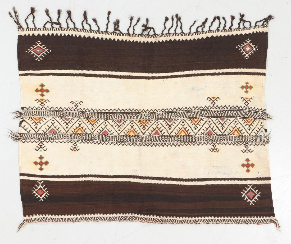 Moroccan Flatweave Rug: 4'4'' x 3'4''