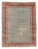 Antique Agra Rug India 710 x 105