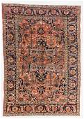 Semi-Antique Heriz Rug, Persia: 7'5'' x 10'7''