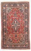 Antique Kashan Rug, Persia: 4'3'' x 7'4''