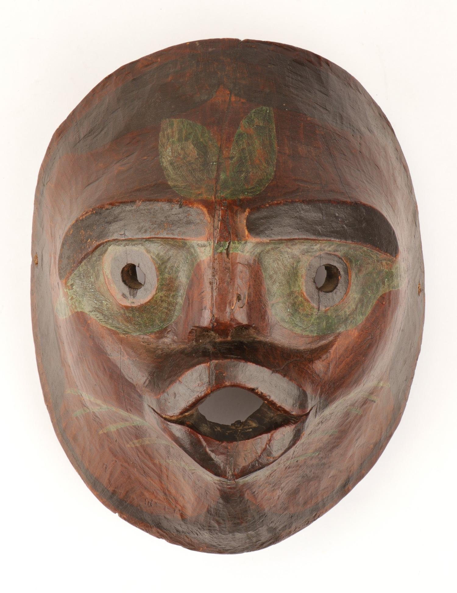 Old Pacific Northwest Native American Mask