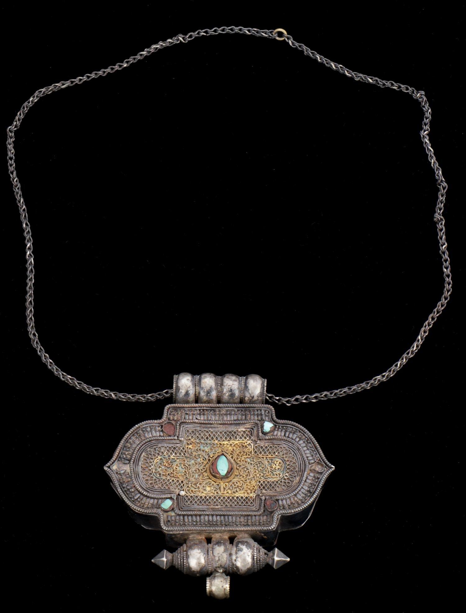 Antique Tibetan Gau/Prayer Box