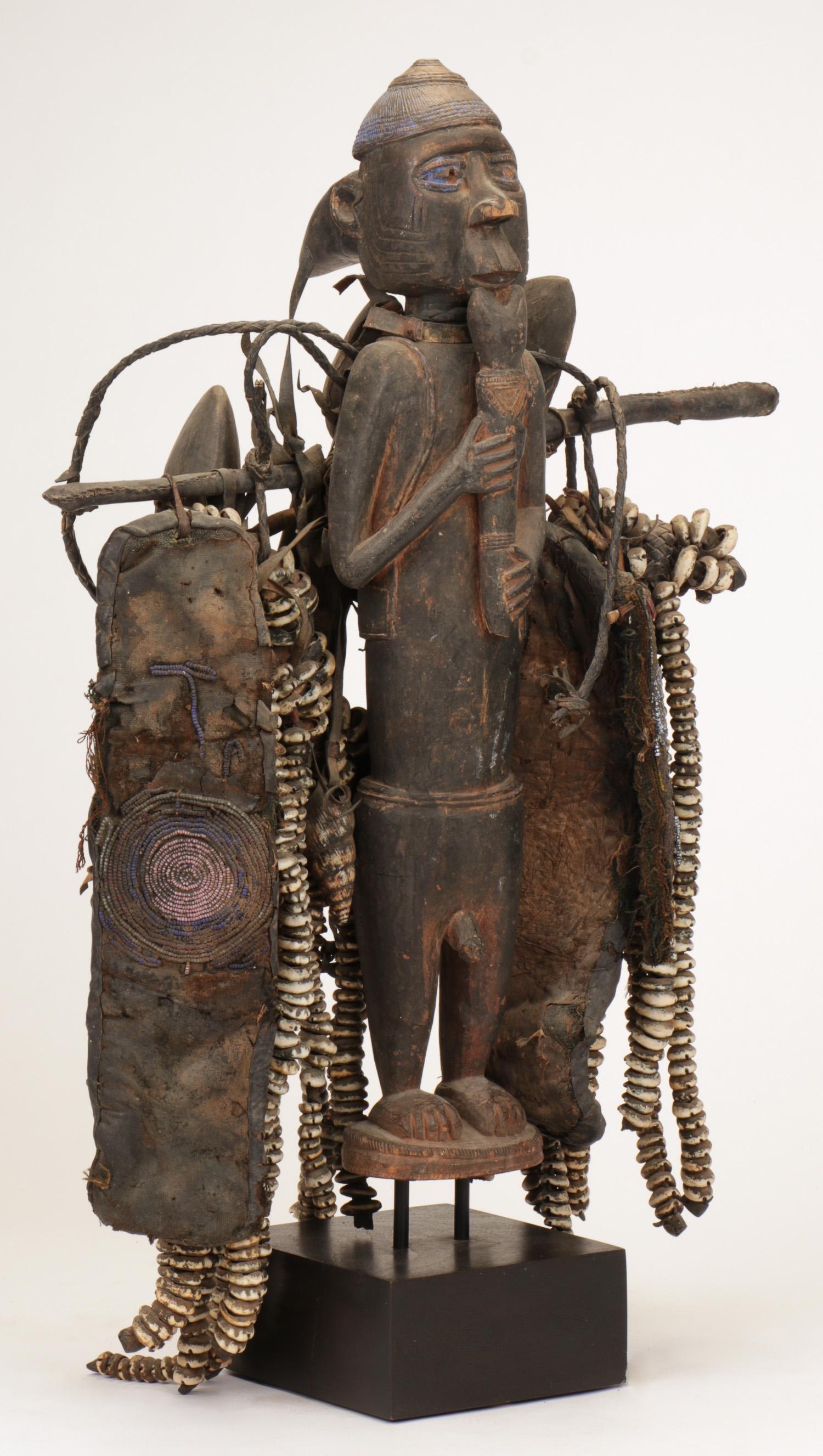 African Yoruba Power Figure