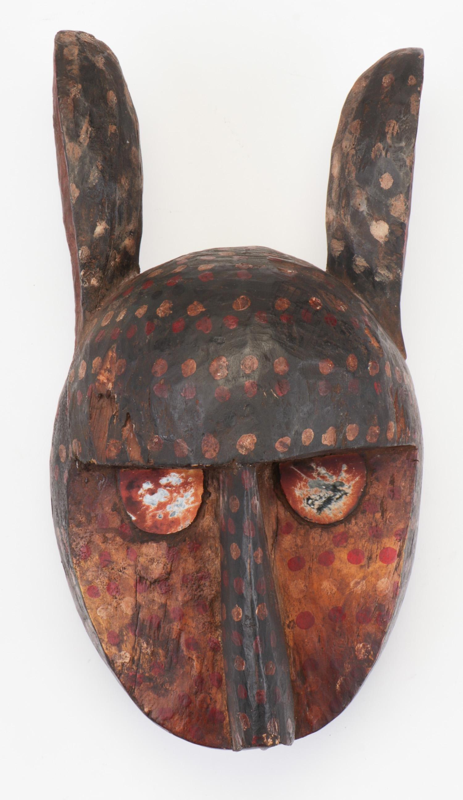 African Dogon Leopard Mask