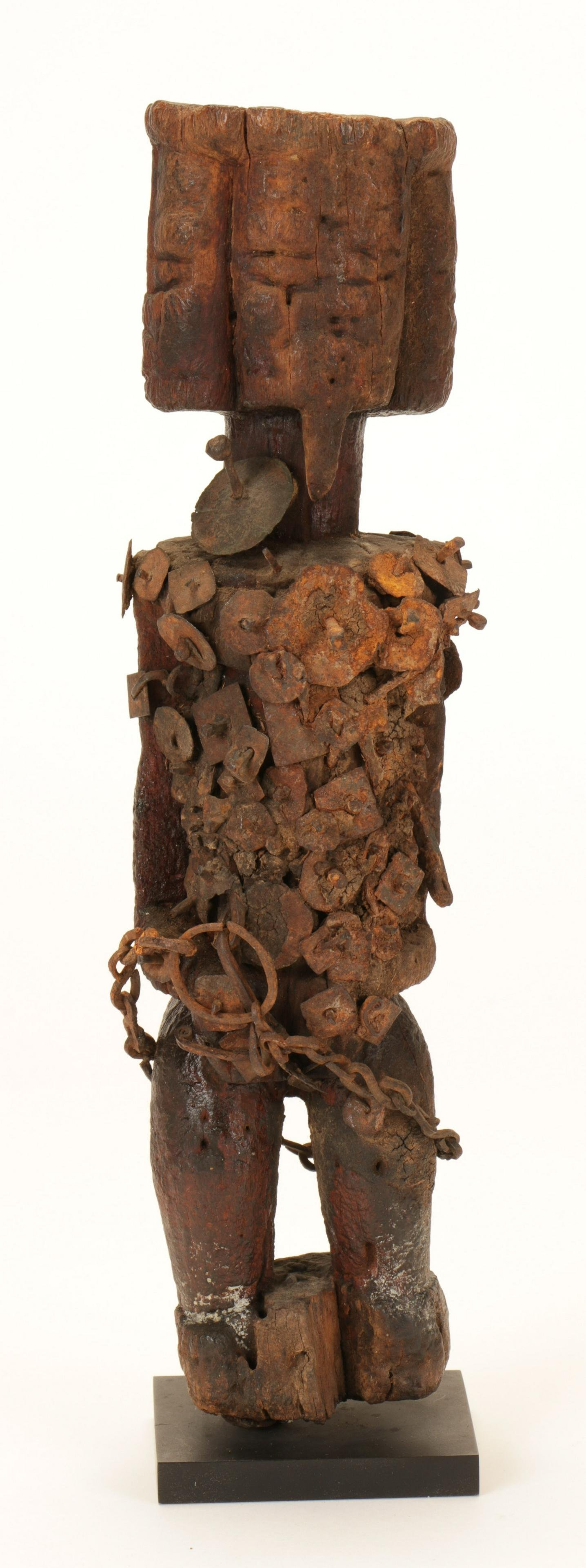 African Dogon Wood Power Figure
