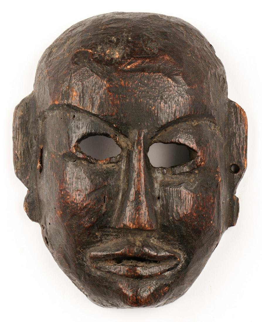 Tibetan Ceremonial Mask, 19th/Early 20th C.
