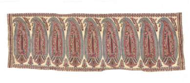 Boteh Textile Panel, India Kashmir, Early 19th C.