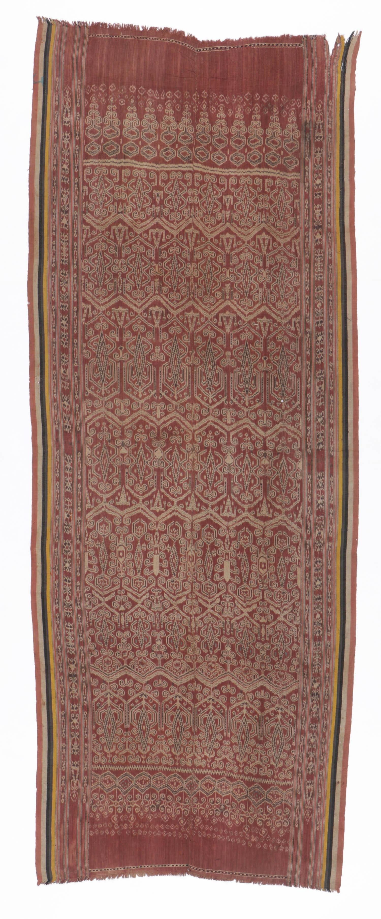 Antique Pua Kombu Ceremonial Ikat Textile
