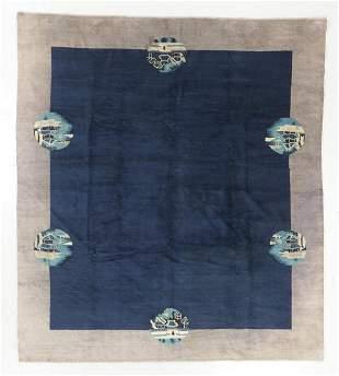 Peking Rug, China, Circa 1900, 7'11'' x 9'0''