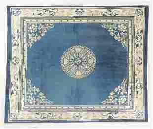 Peking Rug, China, Late 19th C., 8'3'' x 6'11''