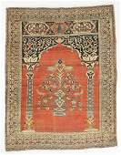 Tabriz Prayer Rug Persia Early 20th C 42 x 55