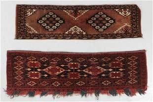 2 Antique Ersari Chuvals Turkmenistan