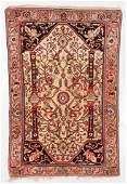 Souf Rug, Persia, Late 19th C., 4'3'' x 6'4''