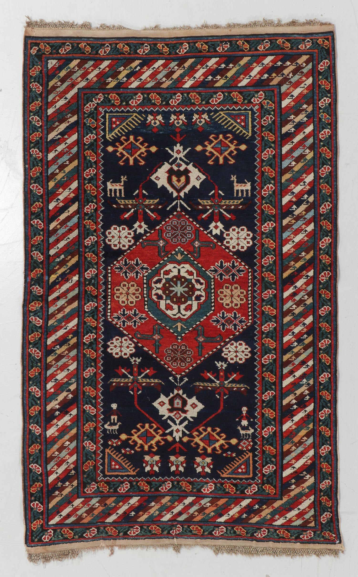 Kuba Rug, Caucasus, Circa 1880, 3'6'' x 5'9''